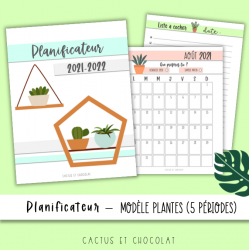 Planificateur «plantes» 2021-2022