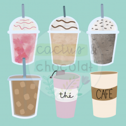 Coffee Shop - Clipart