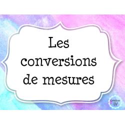 Convertions de mesures