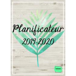 Planificateur / Agenda 2019-2020