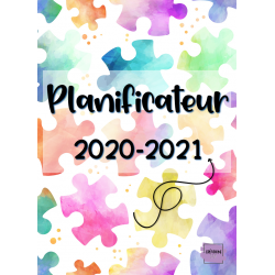 Planificateur / Agenda 2020-2021