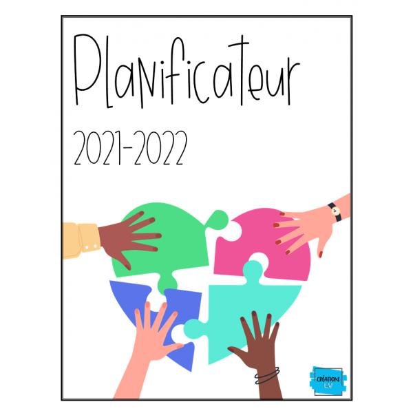 Planificateur/agenda 2021-2022