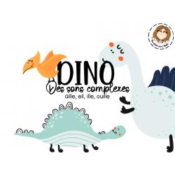 Jeu - Dino sons complexes
