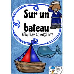 Sur un bateau - Mini-livre pour lecture guidée (B)