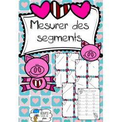 [Atelier math] Mesure de segments Saint Valentin