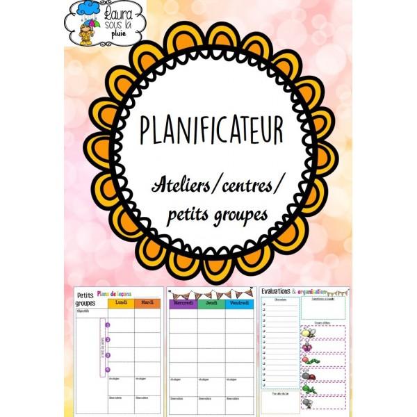 Planificateur d'ateliers/centres/petits groupes