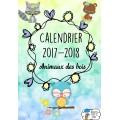 [Calendrier 2017-2018] Animaux des bois + éditable