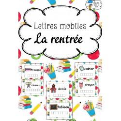 [Atelier lecture] Lettres mobiles - Rentrée