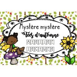[Atelier lecture] Mystère Mystère-Fées d'automne
