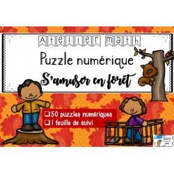 [Atelier math] Puzzle numérique - En forêt
