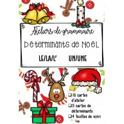 [Atelier grammaire] Déterminants de Noël