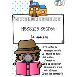 [Atelier lecture] Message secret - La maison
