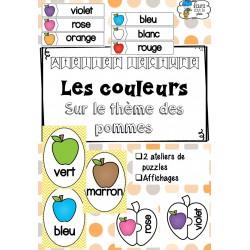 [Atelier lecture] Les couleurs - Thème la pomme