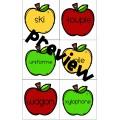 [Atelier lecture] Ordre alphabétique - Pommes