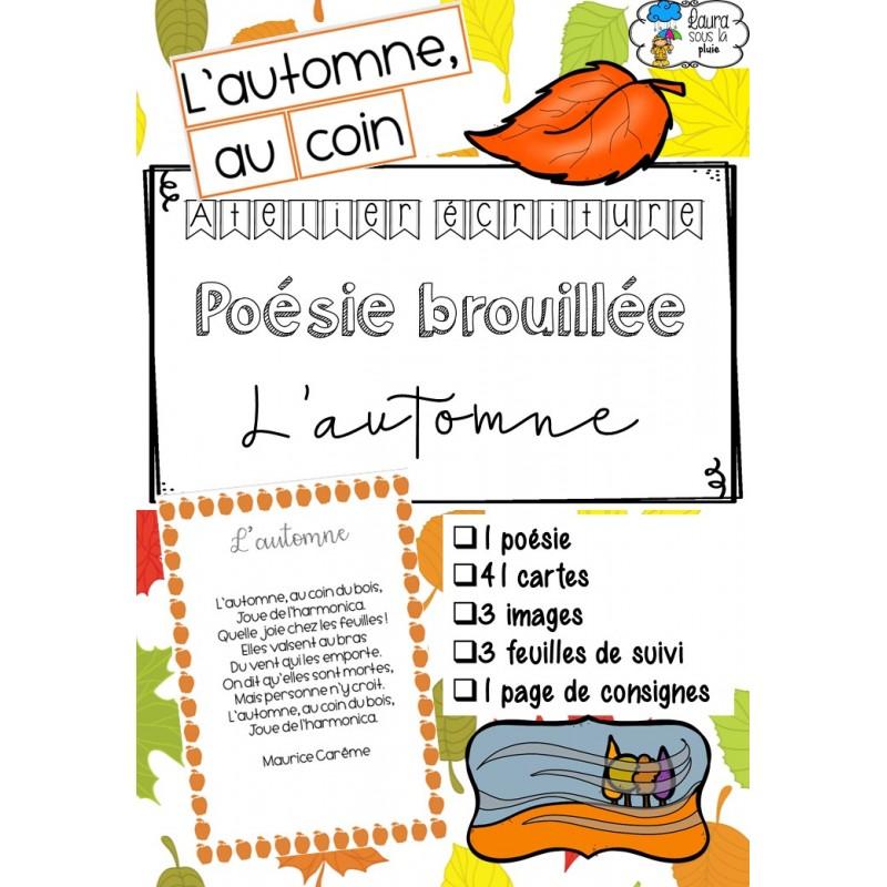 Poésie Brouillée Lautomne
