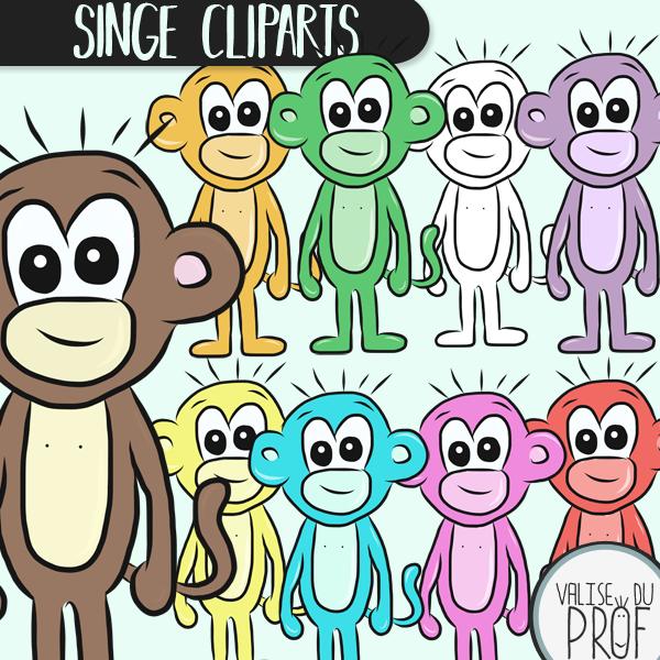 Cliparts singe