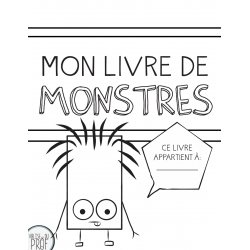 Mon livre de monstres (à colorier)