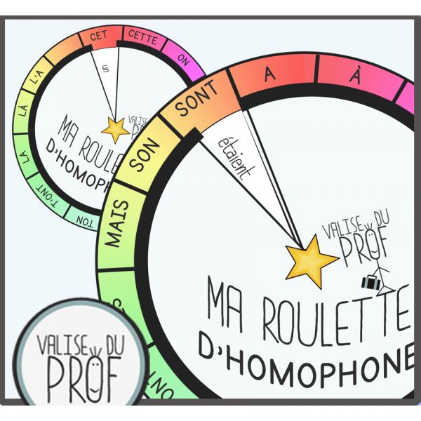 Ma roulette d'homophones