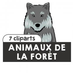 Animaux de la forêt Cliparts