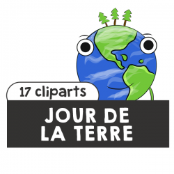 Jour de la Terre / Earth Day Cliparts