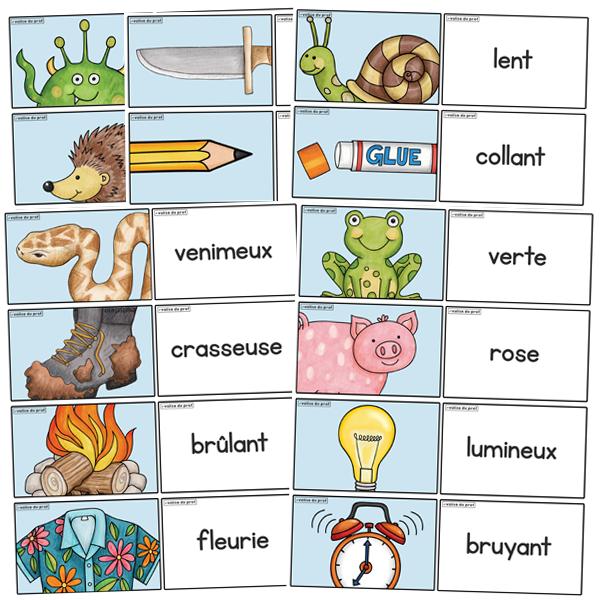 Mini activité - Le bon adjectif!