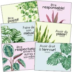 valeurs de classe - Plantes