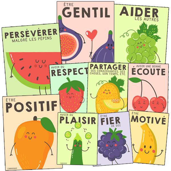 Cultiver le bonheur! - 10 affiches