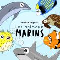 Animaux marins / marine animals cliparts