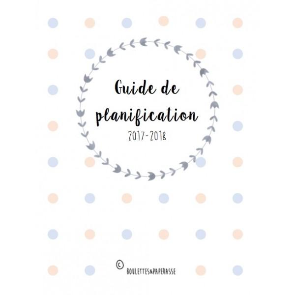 Guide de planification pour étudiants