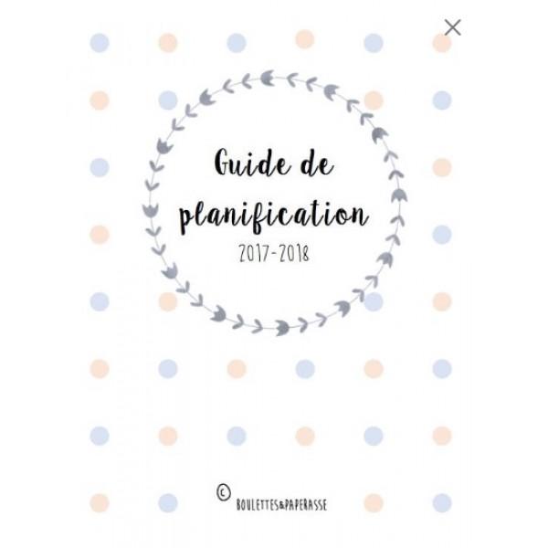 Planificateur pour préscolaire/adaptation scolaire