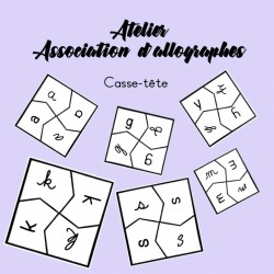 Atelier - Association d'allographes