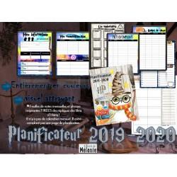 Planificateur Harry Potter 4 cases