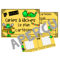 Cartes à tâches sur le plan cartésien