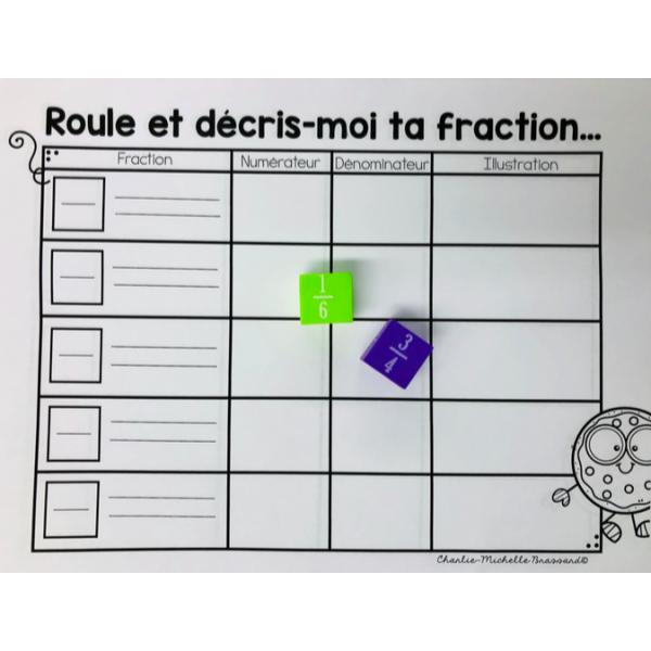 Représentation d'une fraction
