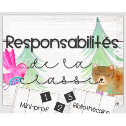 """Responsabilités """"Boho"""""""
