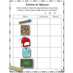 Estimation et Mesure
