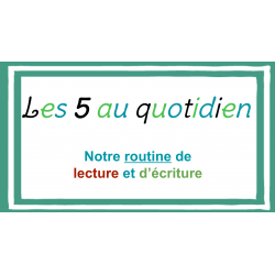 Introduction 5 au quotidien