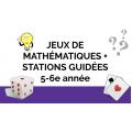 Plus de 15 ateliers de maths: guidés et autonomes