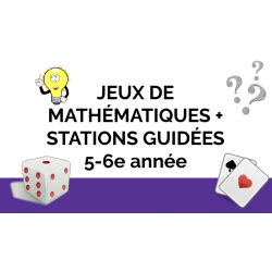 Plus de 15 ateliers de maths: guidés et autonomes
