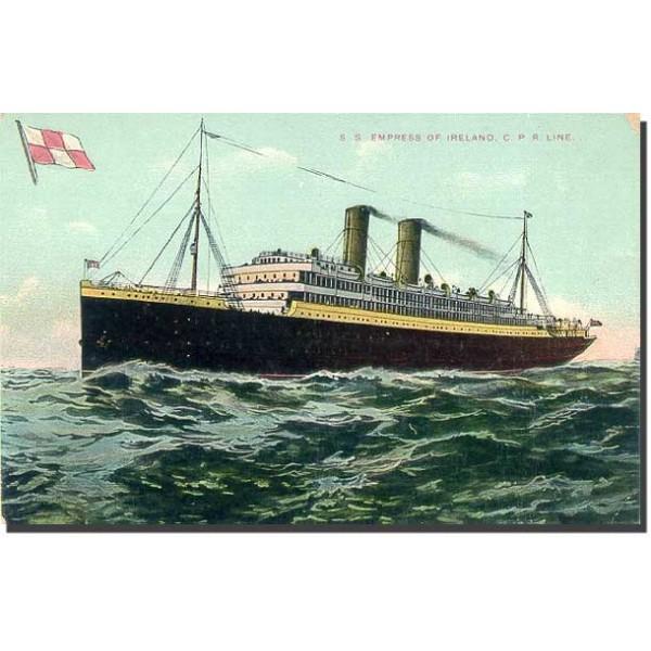 L'Empress of Ireland: Portrait des passagers