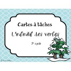 Cartes à tâche_L'infinitif des verbes