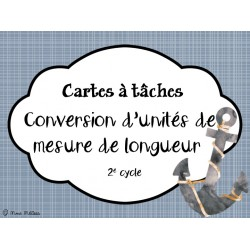 Cartes à tâches_Conversion d'unités de mesure