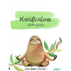 Planificateur 2019-2020 - paresseux