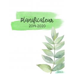 Planificateur 2019-2020 - Feuillage