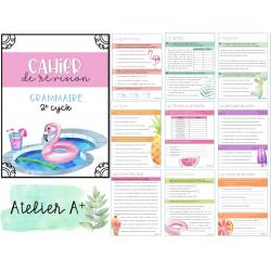 Cahier de révision - grammaire - 2e cycle