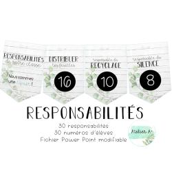 Responsabilités - épuré