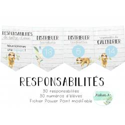 Responsabilités - paresseux