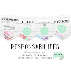 Responsabilités - école