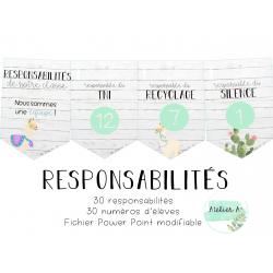 Responsabilités - lamas