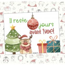 Décompte - Noël